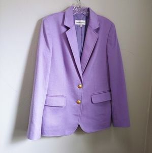 Bloomingdale's 100% cashmere blazer
